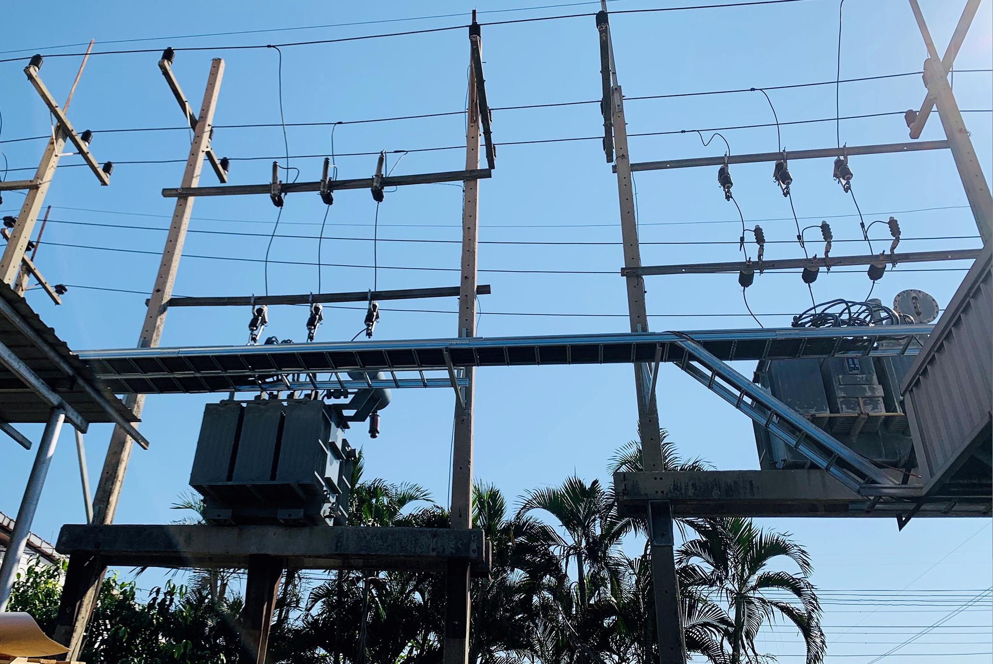 งานติดตั้งระบบไฟฟ้าแรงสูง-แรงต่ำ